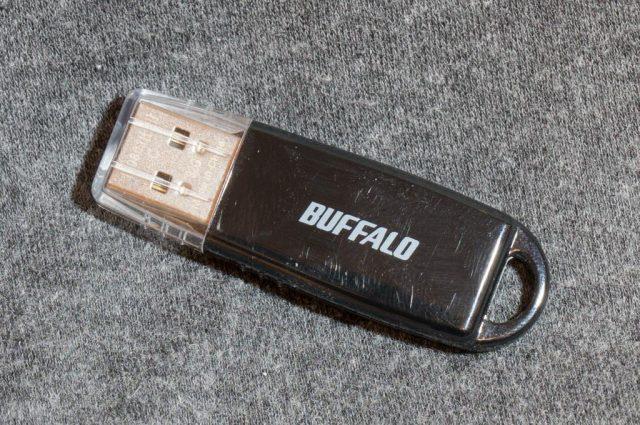 容量32GBのUSBメモリ